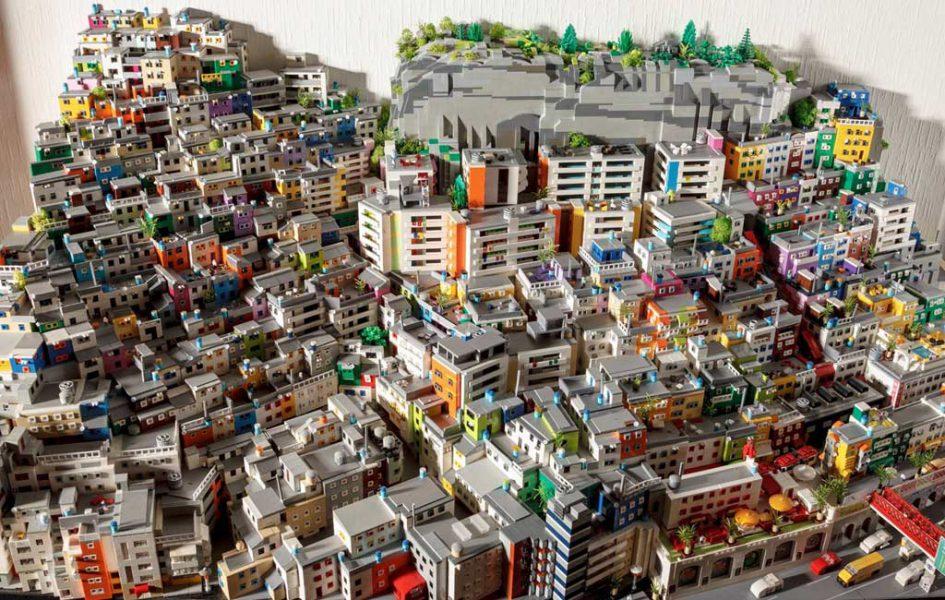 moc de lego de las favelas de r o. Black Bedroom Furniture Sets. Home Design Ideas