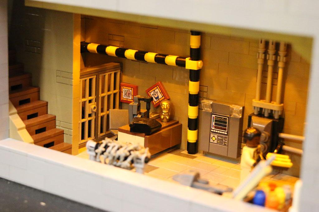 Dieses Ghostbusters Headquarter hat einen Keller. | © Andres Lehmann / zusammengebaut.com