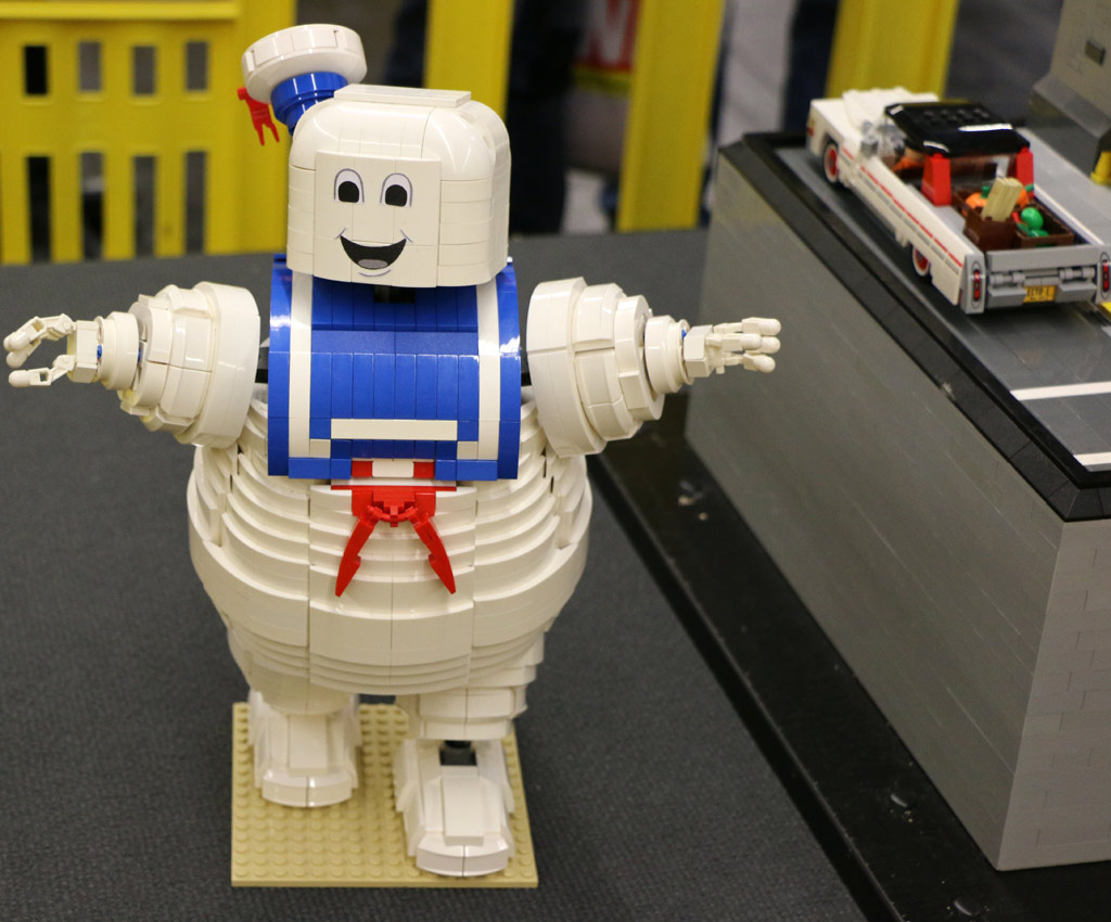 Der Marshmallow Man darf nicht fehlen! | © Andres Lehmann / zusammengebaut.com