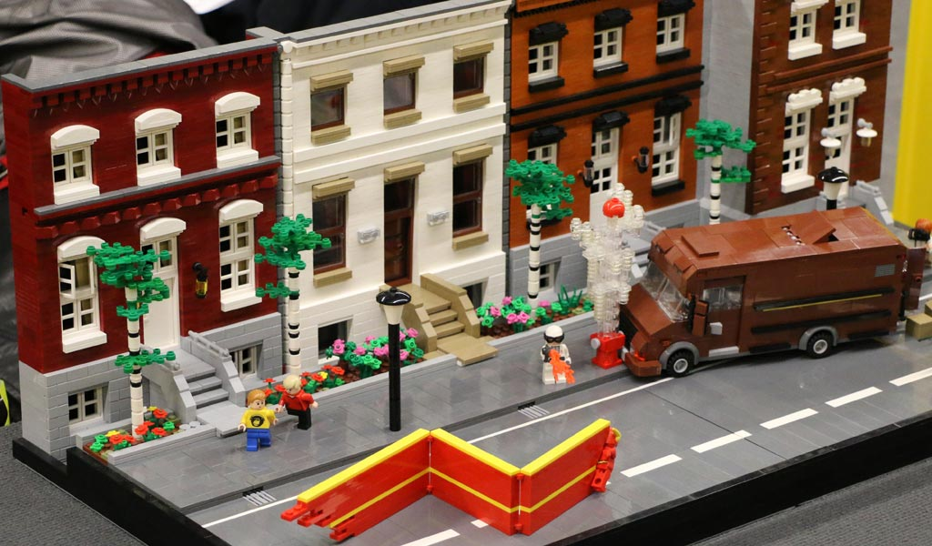 LEGO MOC: Häuser-Fassaden | © Andres Lehmann / zusammengebaut.com