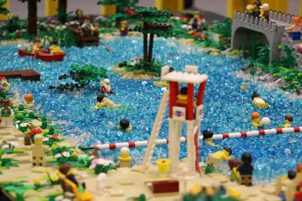 LEGO MOC: Halterner Stausee von Sonja Koeper | © Andres Lehmann / zusammengebaut.com