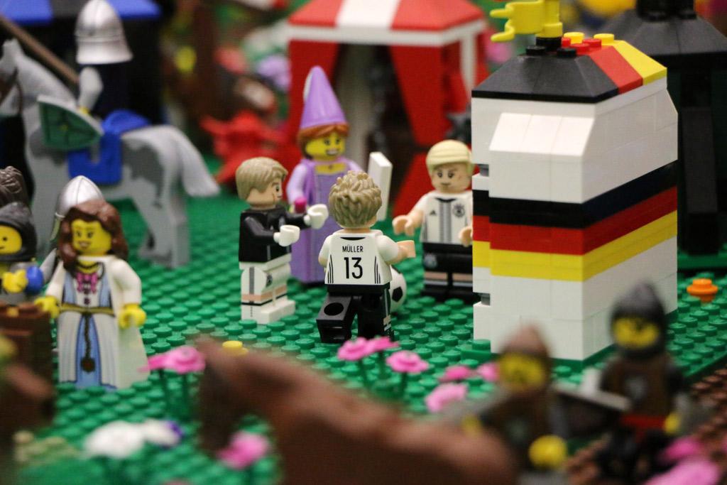 Es müllert im Mittelalter! | © Andres Lehmann / zusammengebaut.com