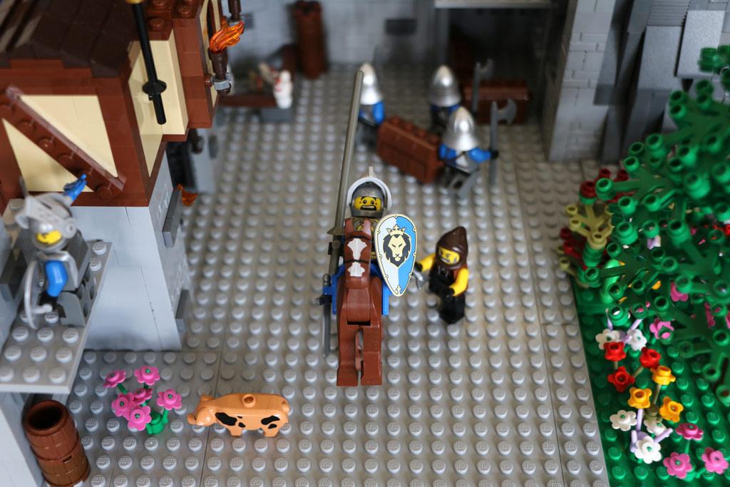 Pferd und Ritter: Noch keine Einheit | © Michael Kopp / zusammengebaut.com