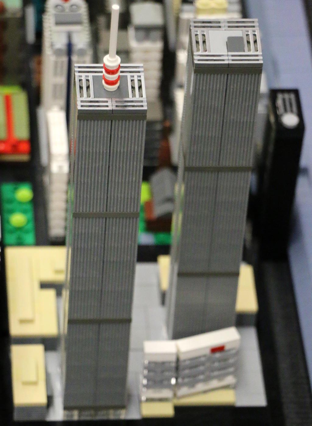 New York City Miniatur-MOC von Klaus Staaden | © Andres Lehmann / zusammengebaut.com