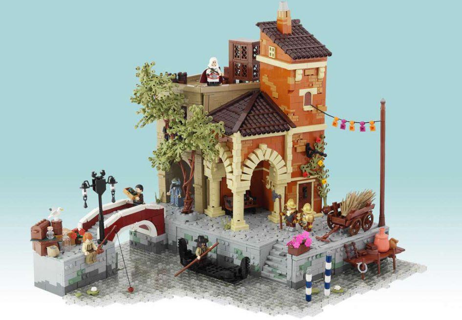 LEGO MOC: Venice 1486 | © Jonas Kramm & Brick Vader