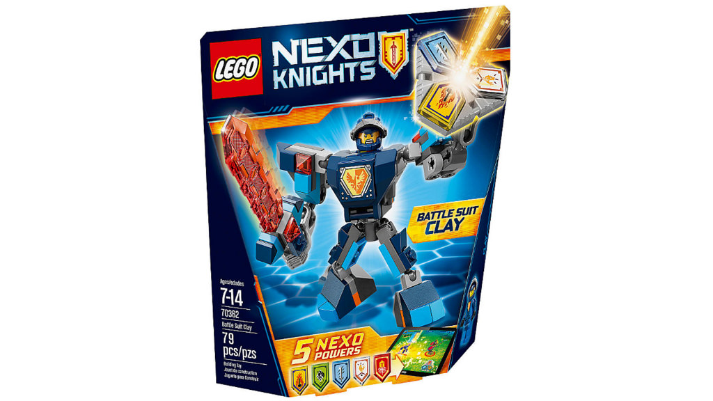 LEGO Nexo Knights Battle Suit Clay 70362 | © LEGO Group