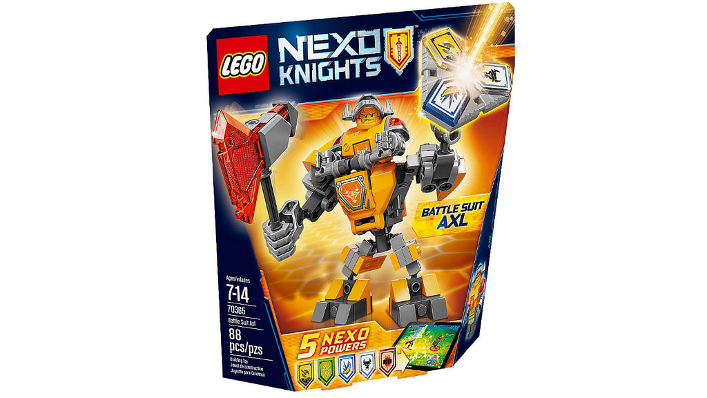 LEGO Nexo Knights Battle Suit Axl 70365 | © LEGO Group
