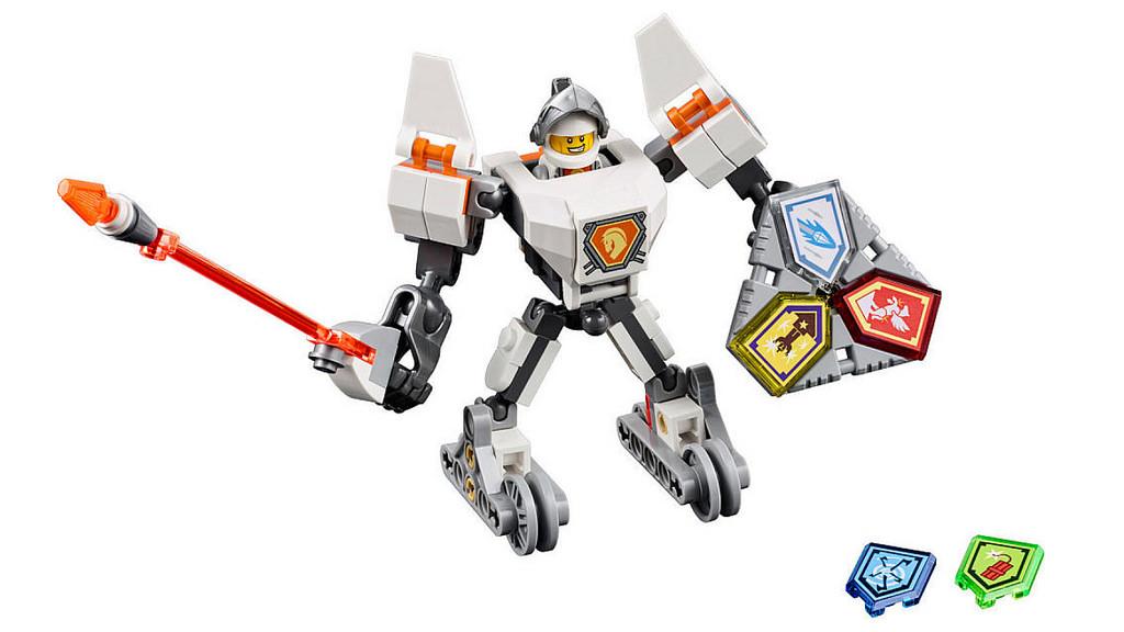 LEGO Nexo Knights Battle Suit Lance 70366   © LEGO Group