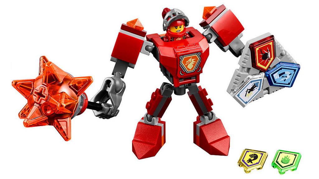 LEGO Nexo Knights Battle Suit Macy 70363   © LEGO Group