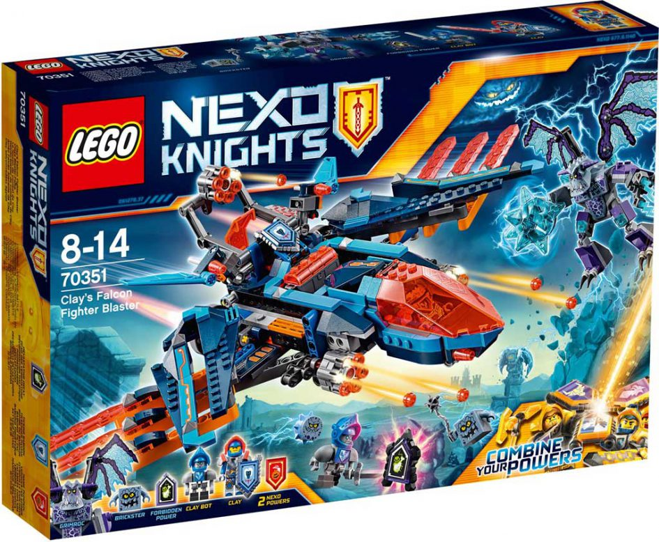 LEGO Nexo Knights Clay's Blaster Falcon 70351 | © LEGO Group