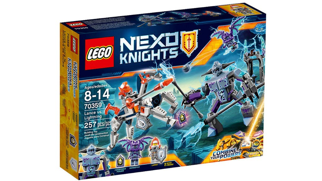 LEGO Nexo Knights Lance vs. Lightning 70359 | © LEGO Group