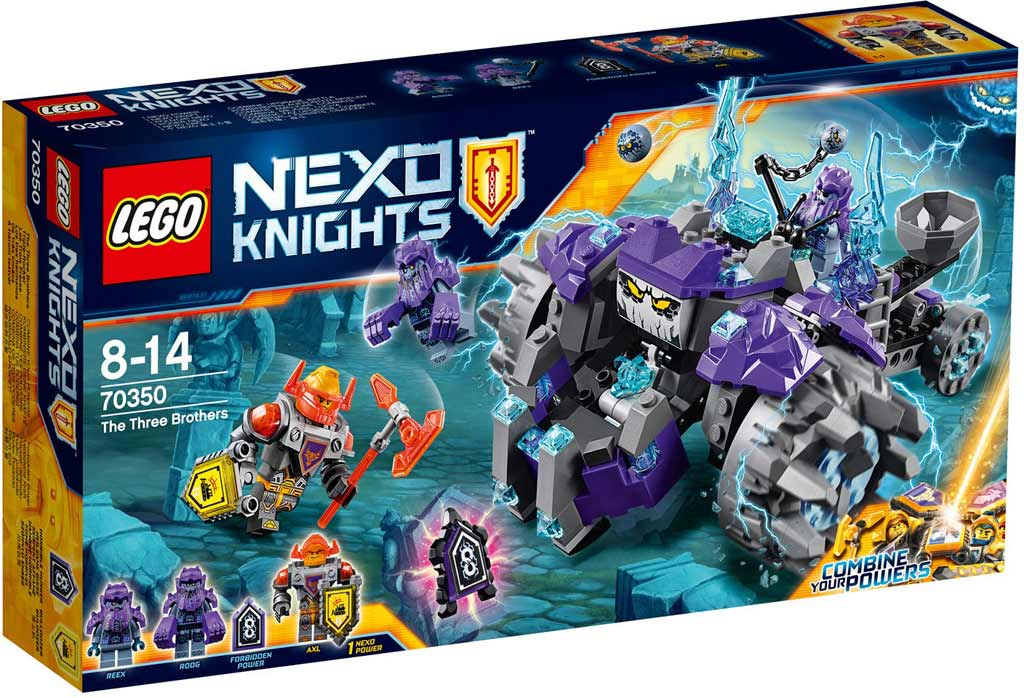 LEGO Nexo Knights Triple-Rocker 70350 | © LEGO Group