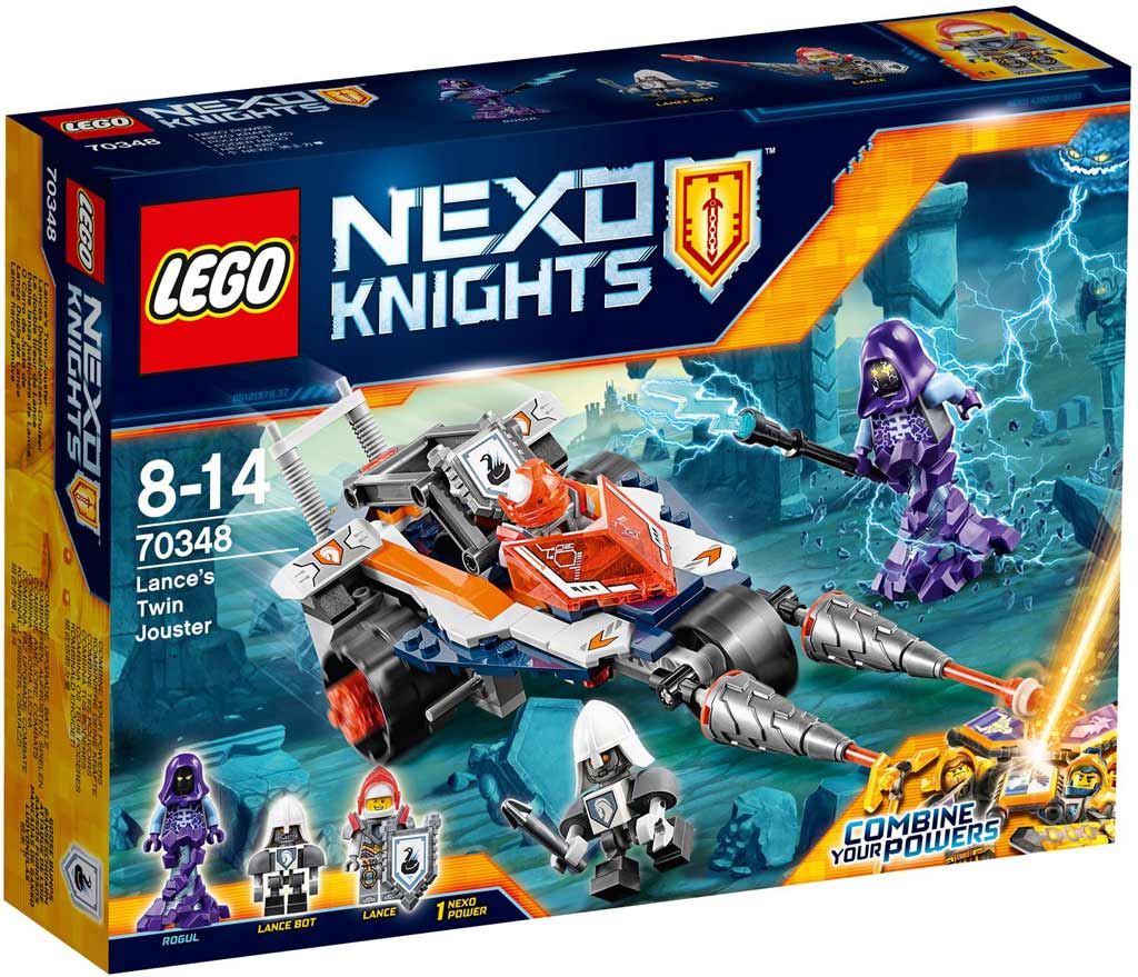 LEGO Nexo Knights Lance's Twin Jouster 70348  | © LEGO Group