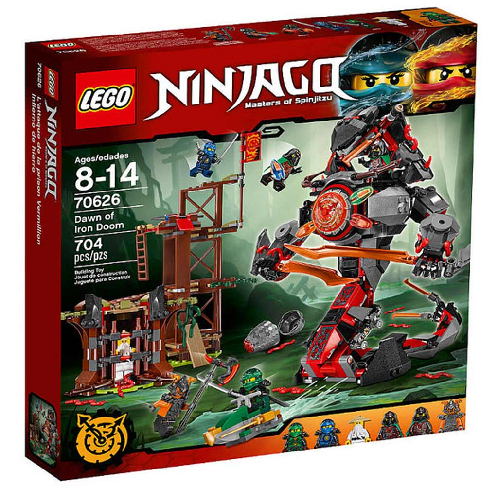 LEGO Ninjago Dawn of Iron Doom 70626 | © LEGO Group