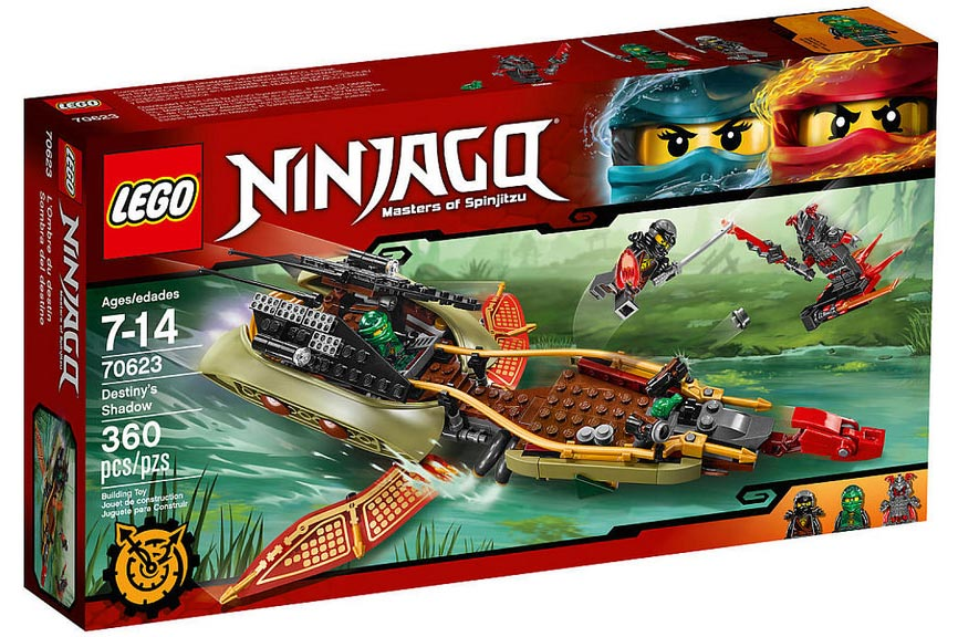LEGO Ninjago Destiny's Shadow 70623 | © LEGO Group
