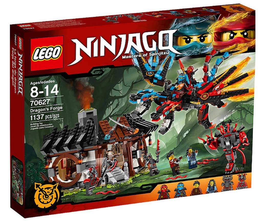 LEGO Ninjago Dragon's Forge 70627 | © LEGO Group