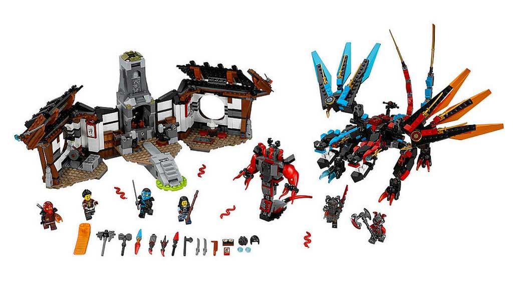LEGO Ninjago Dragon's Forge 70627 | © LEGO Group