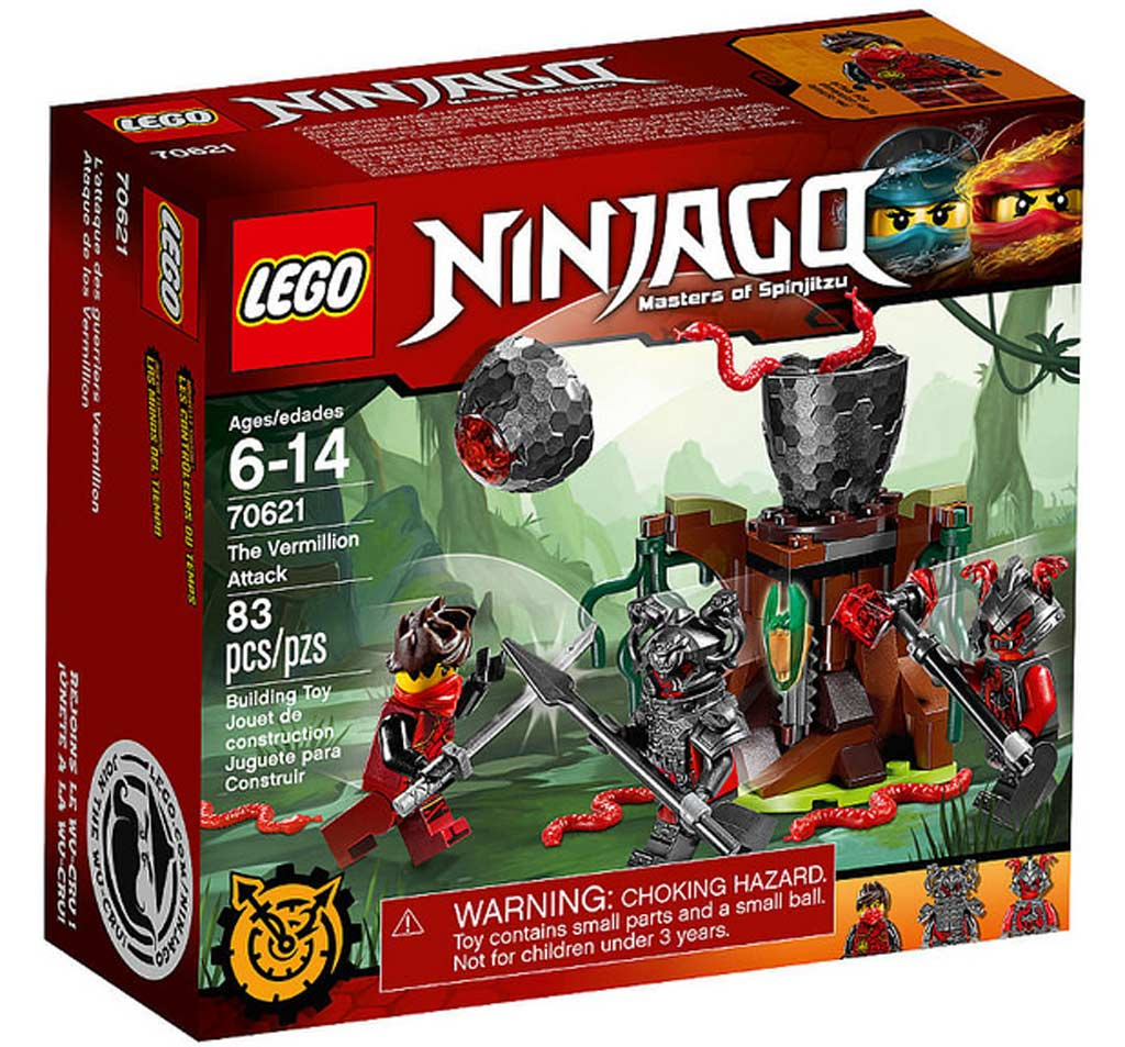 LEGO Ninjago The Vermillion Attack70621 | © LEGO Group