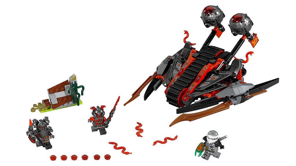 LEGO Ninjago Vermillion Invader 70624 | © LEGO Group