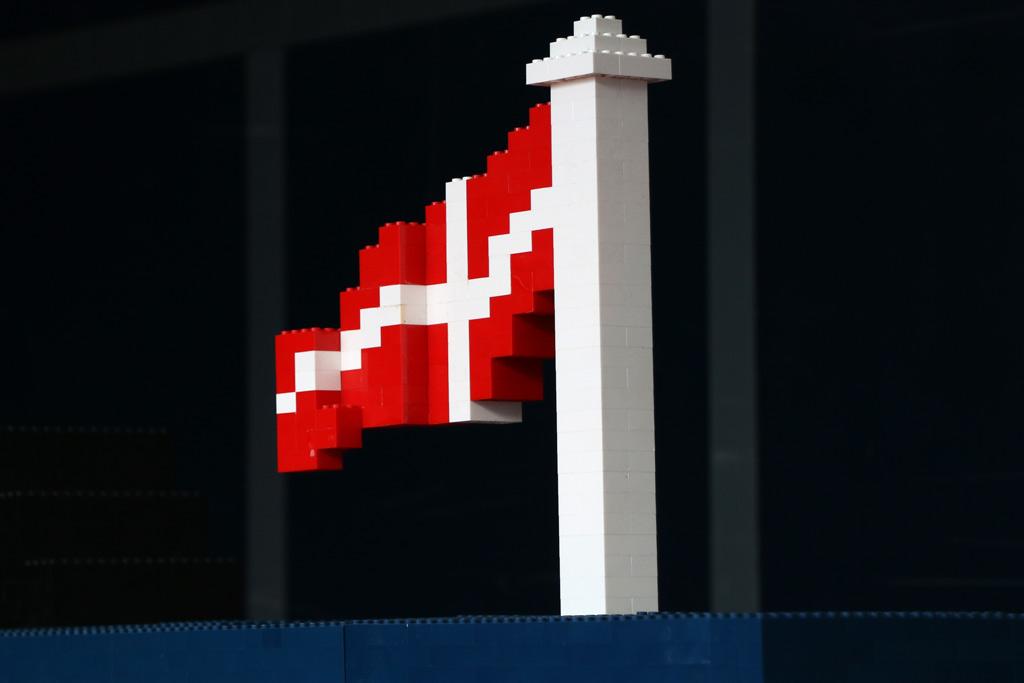 Dänische Flagge | © Andres Lehmann / zusammengebaut.com