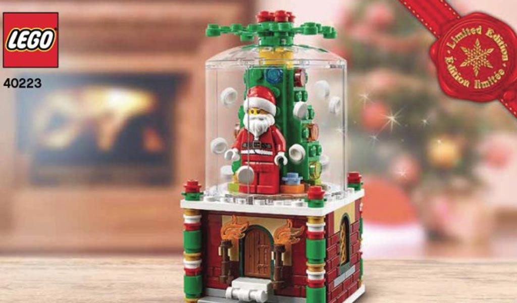 Aktuell als Bonus im LEGO Online Shop: Die Schneekugel ab 65 Euro | © LEGO Group