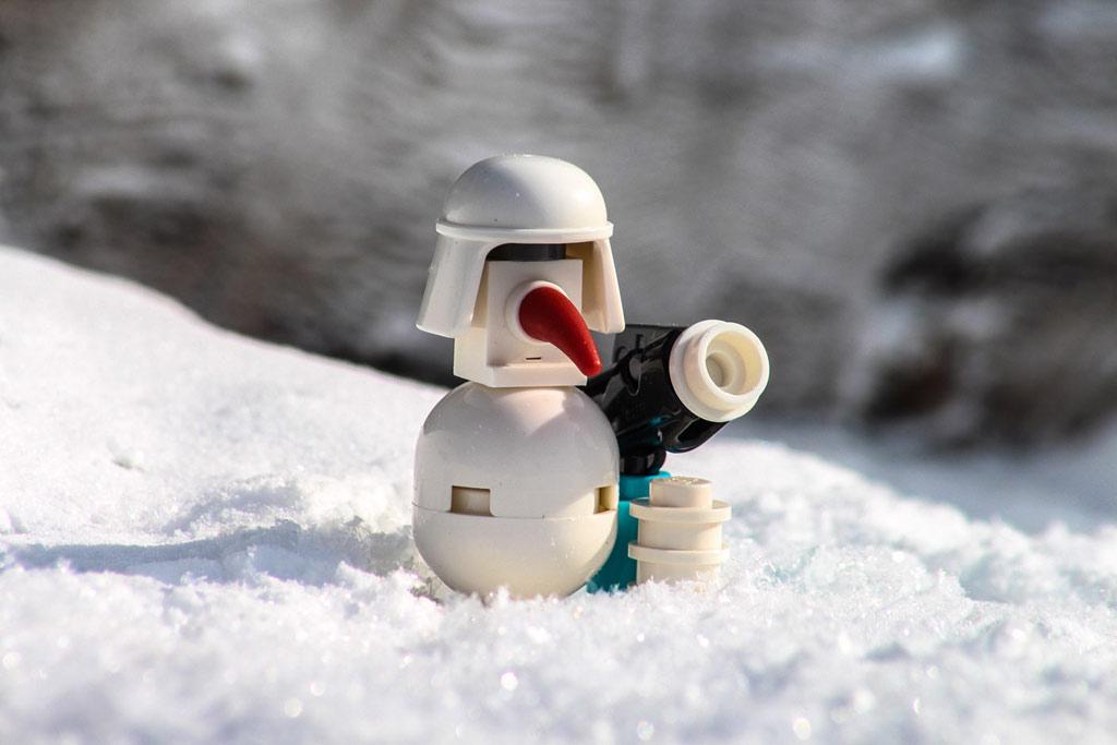 Olaf? Nein! Ein imperialer Schneemann. | © Markus Land