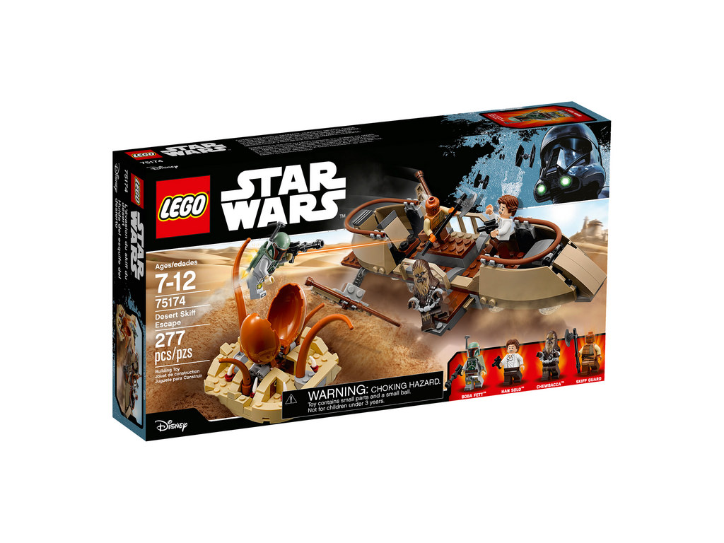 LEGO Star Wars Desert Skiff Echap 75174   © LEGO Group