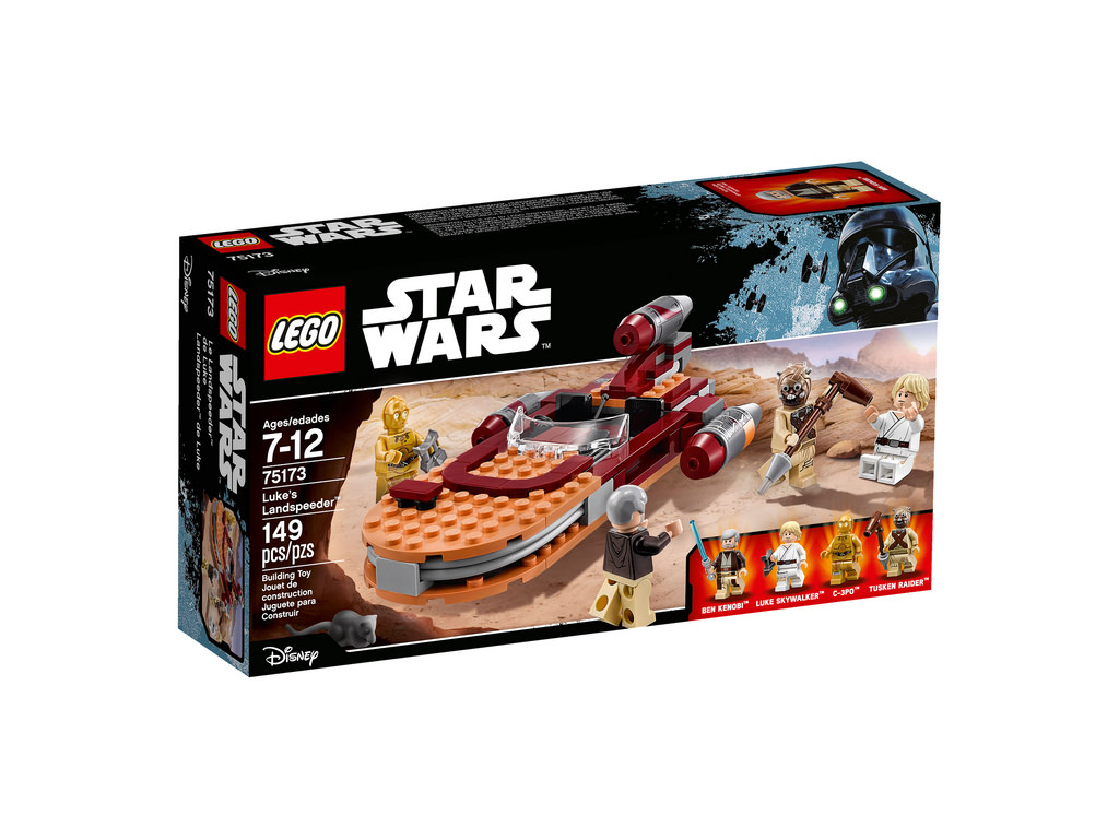 LEGO Star Wars Luke's Landspeeder 75173 | © LEGO Group