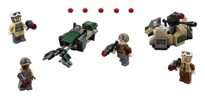 LEGO Star Wars Rebel Trooper Battle Pack 75164   © LEGO Group
