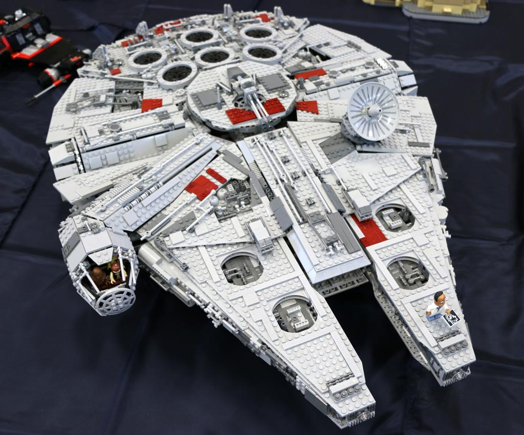 LEGO Star Wars Ultimate Collector's Millennium Falcon (10179) | © Andres Lehmann / zusammengebaut.com