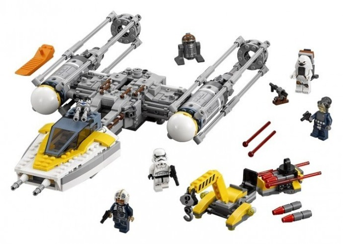 LEGO Y-wing Starfighter 75172 | © LEGO Group