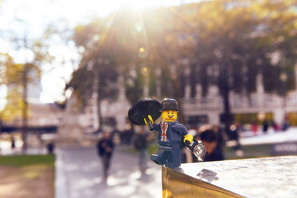 Gruß aus dem herbstlichen London | © LEGO Group