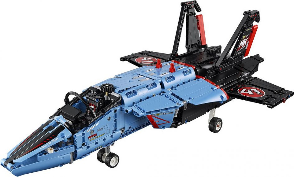 lego technic 2017 air race jet telehandler und b modelle. Black Bedroom Furniture Sets. Home Design Ideas