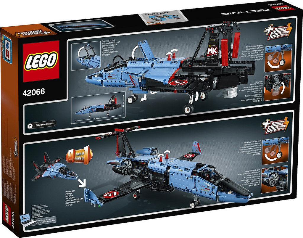 LEGO Technic Air Race Jet 42066: B-Modell | © LEGO Group