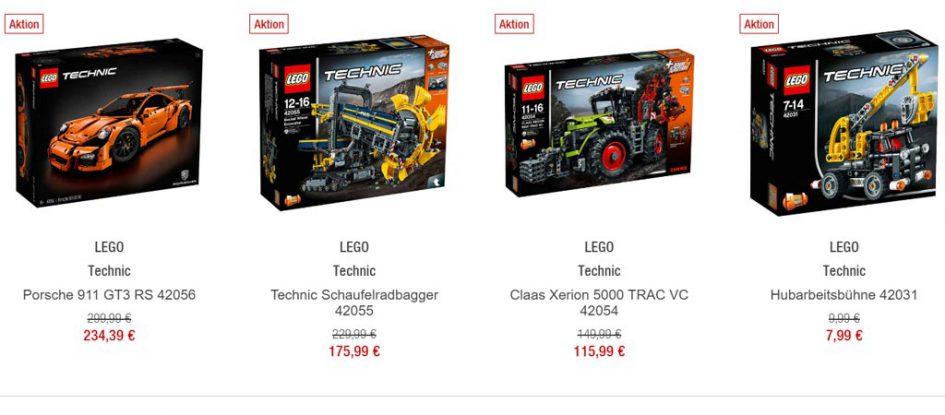 Nur heute am Black Friday: 20 Prozent Rabatt auf alle LEGO Sets bei der Galeria Kaufhof | © Andres Lehmann / zusammengebaut.com