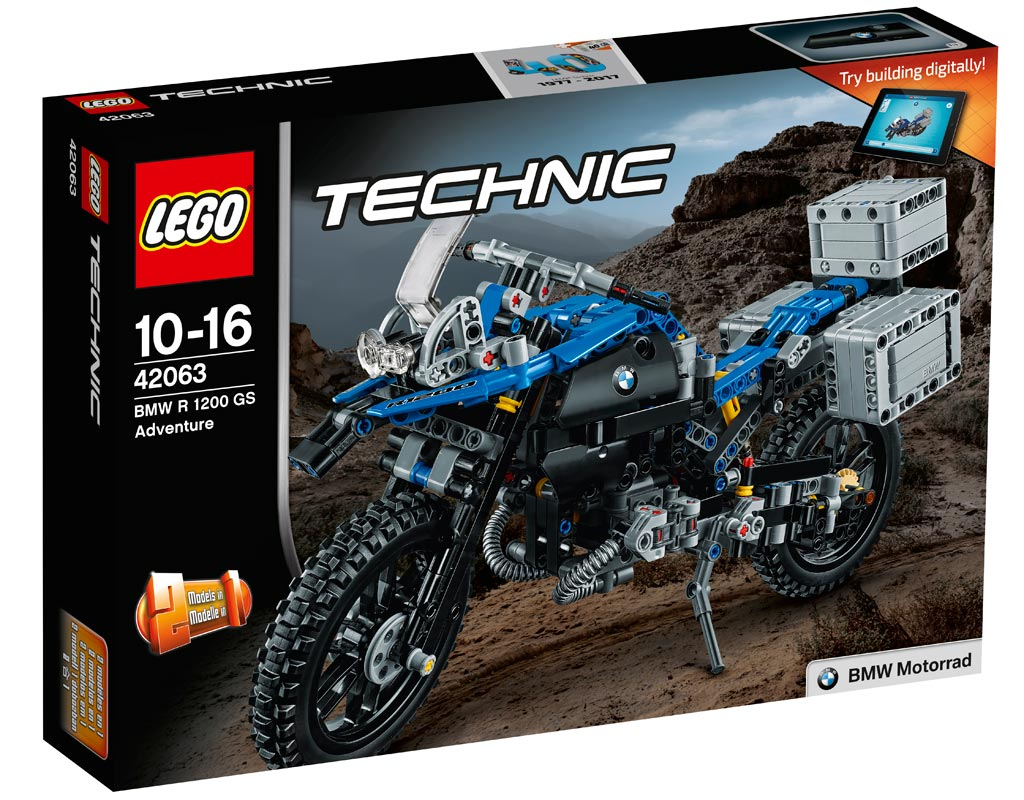 LEGO Technic BMW R 1200 GS 42063 | © LEGO Group