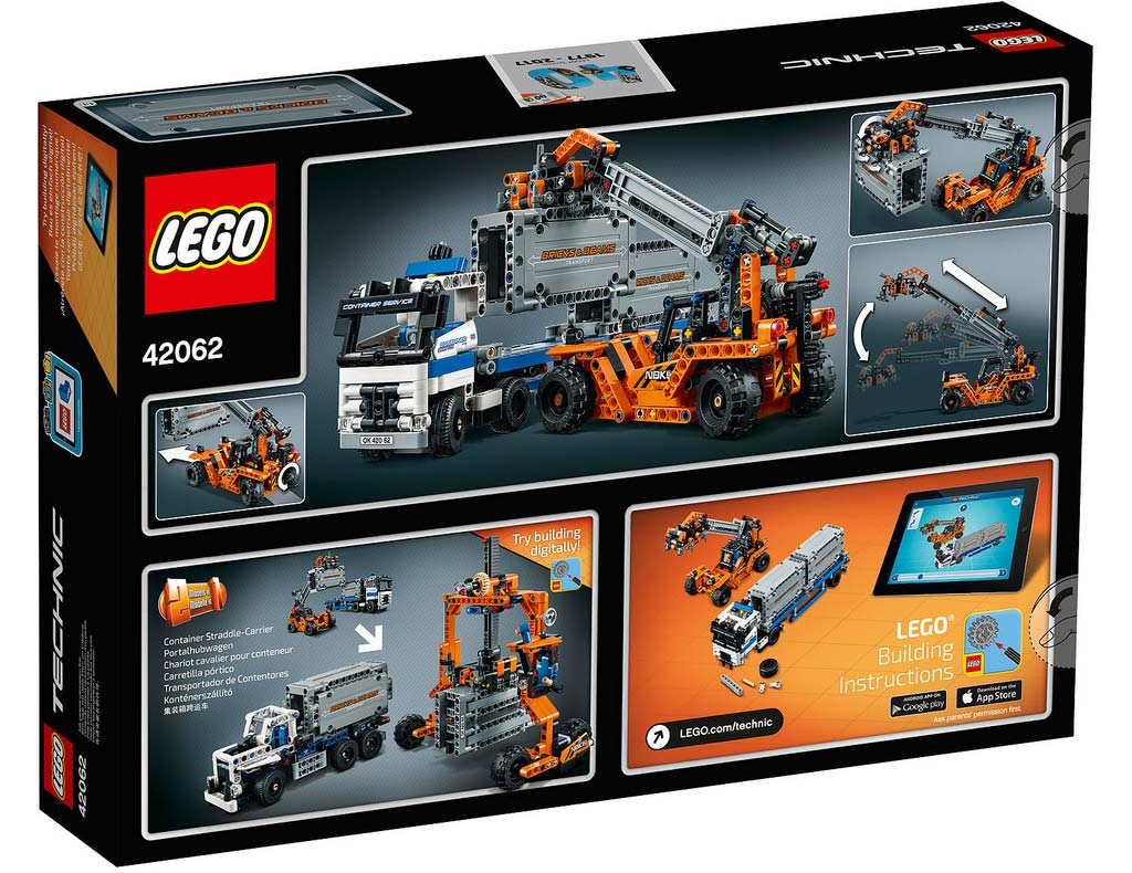 LEGO Technic Container Yard 42062: B-Modell   © LEGO Group