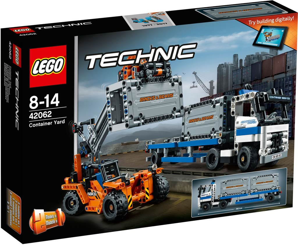 LEGO Technic Container Yard 42062 | © LEGO Group
