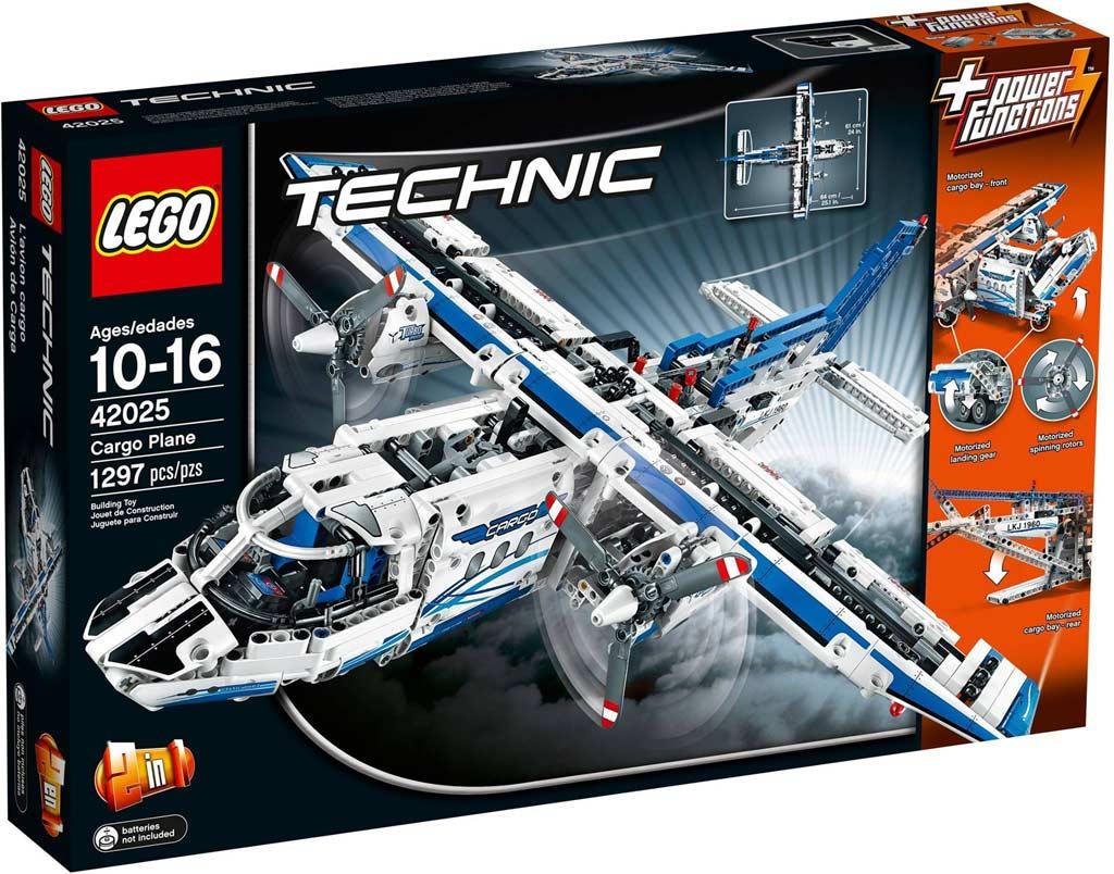 lego technic frachtflugzeug 42025 gewinnspiel. Black Bedroom Furniture Sets. Home Design Ideas