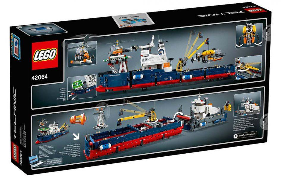 LEGO Technic Ocean Explorer 42064: B-Modell   © LEGO Group