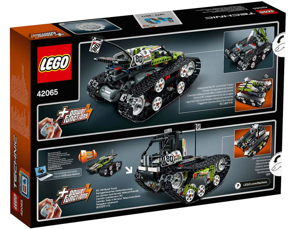 LEGO Technic RC Tracked Racer 42065: B-Modell | © LEGO Group
