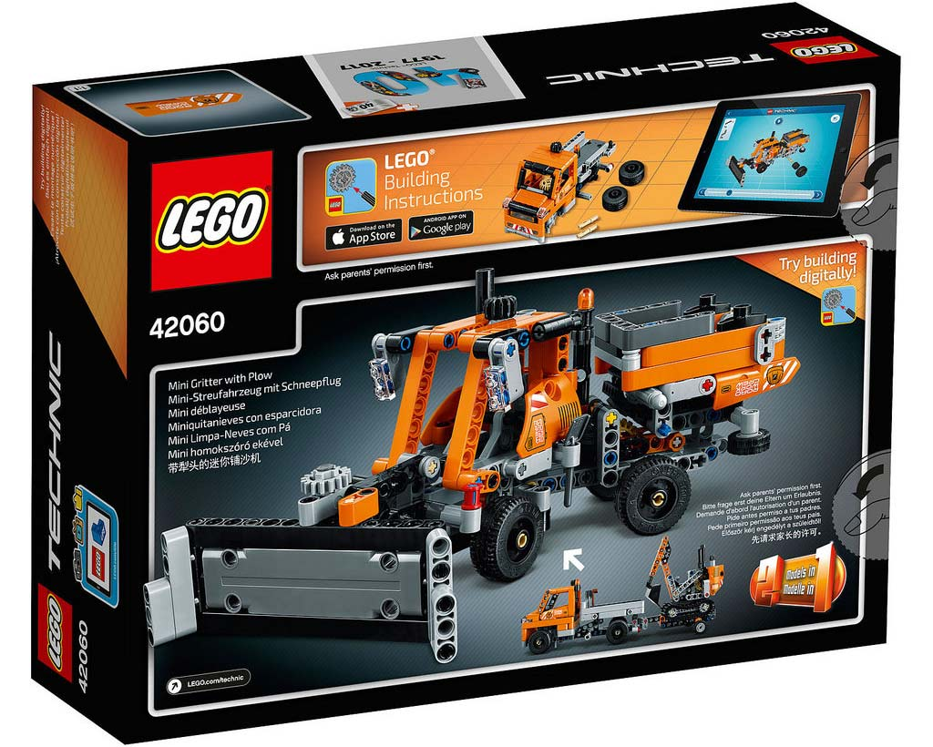 LEGO Technic Roadwork Crew 42060: B-Modell | © LEGO Group