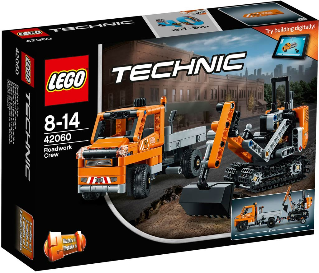 LEGO Technic Roadwork Crew 42060 | © LEGO Group