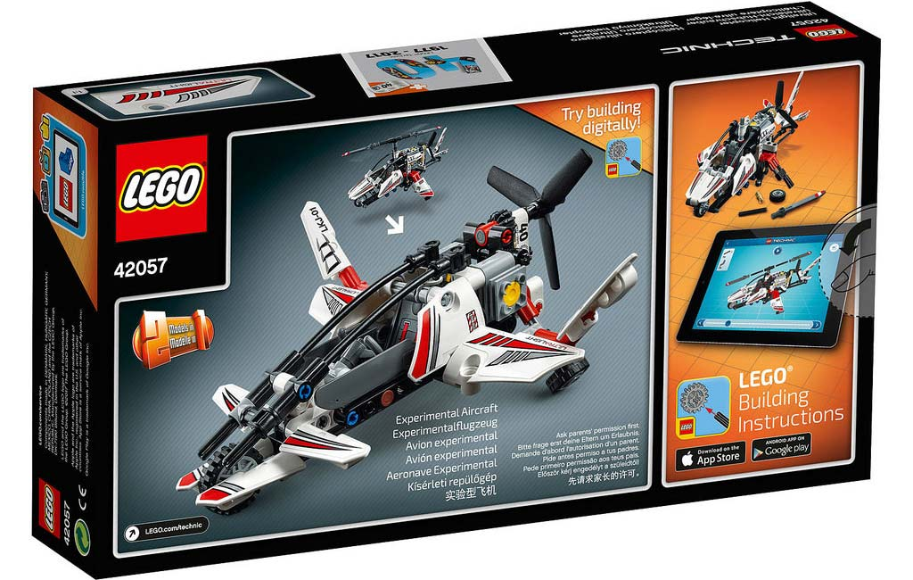 LEGO Technic Ultralight Helicopter 42057: B-Modell | © LEGO Group