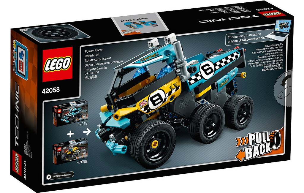 LEGO Technic Stunt Bike 42058 und Stunt Truck 42059: B-Modell | © LEGO Group: B-Modell | © LEGO Group