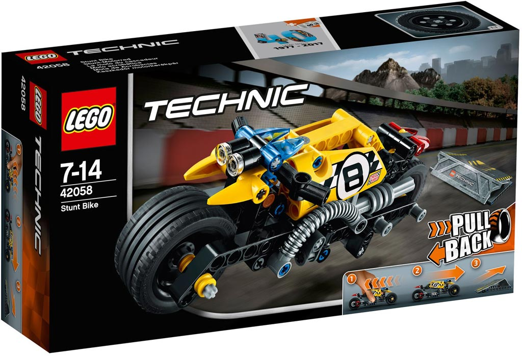 LEGO Technic Stunt Bike 42058 | © LEGO Group