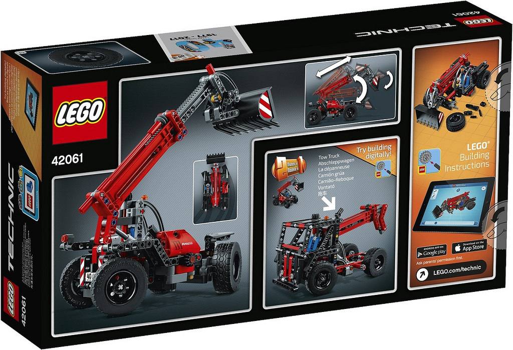 LEGO Technic Telehandler 42061: B-Modell | © LEGO Group
