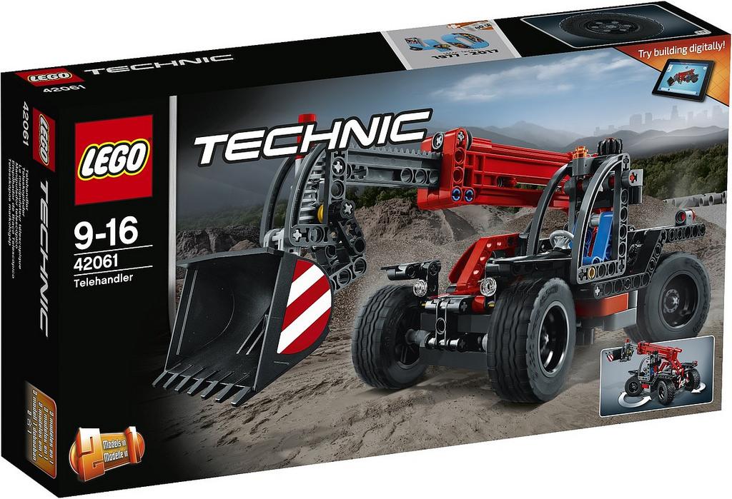 LEGO Technic Telehandler 42061 | © LEGO Group