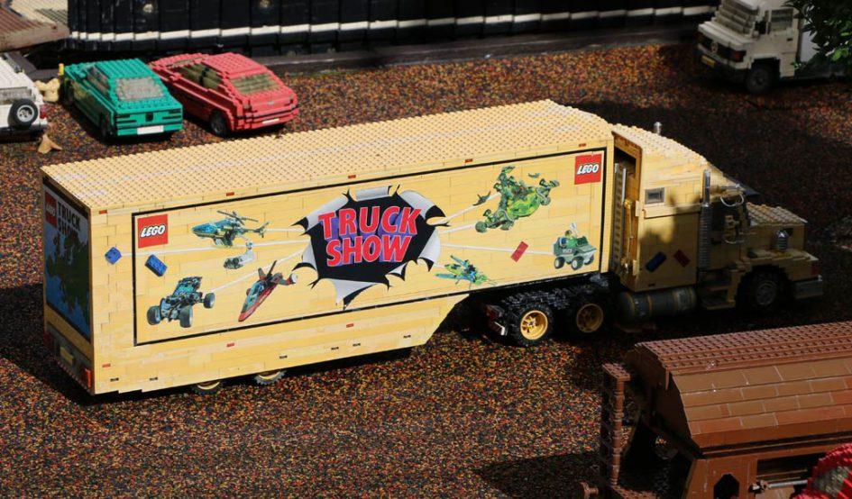 Die LEGO Truck Show gastiert im LEGOLAND Billund | © Andres Lehmann / zusammengebaut.com