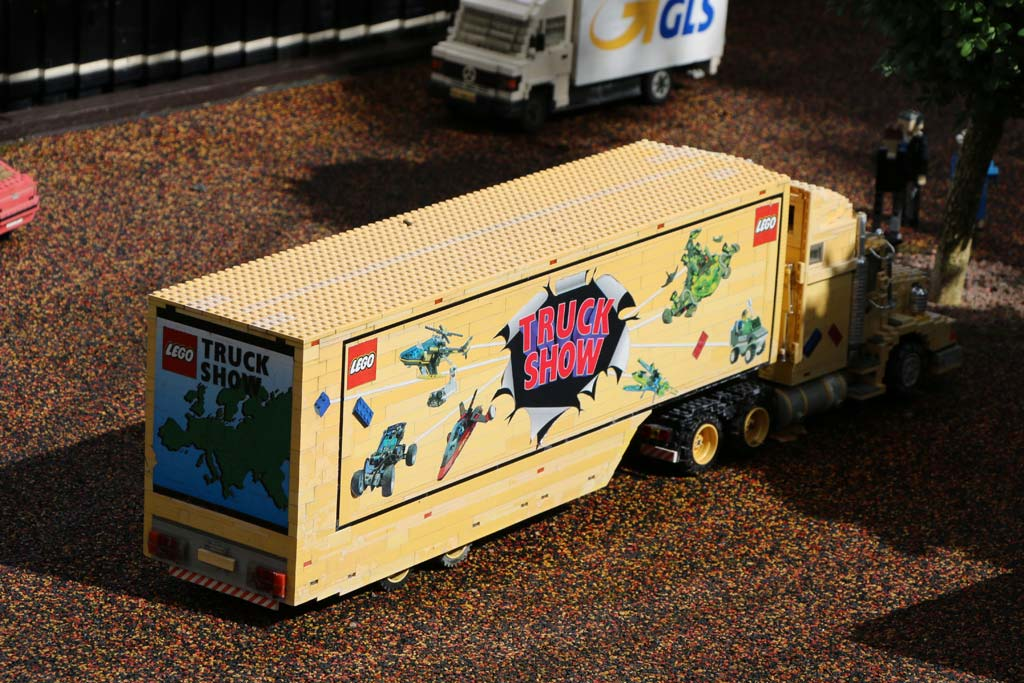 Die LEGO Truck Show gab es tatsächlich vor rund 20 Jahren.   © Andres Lehmann / zusammengebaut.com